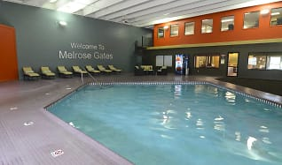 Pool, Melrose Gates Apartments