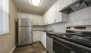 Kitchen, Biscayne Apartments