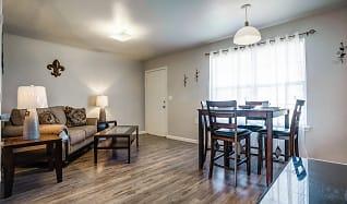 Living Room, Windsor Village Apartments