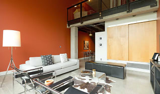 Living Room, Gateway Lofts