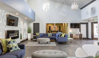 Living Room, The Modern Apartments