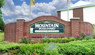 Community Signage, Mountain Boulevard Apartment Homes