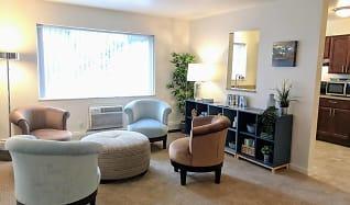 Living Room, Arbor Hills Apartments