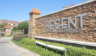 Community Signage, The Regent Apartment Homes