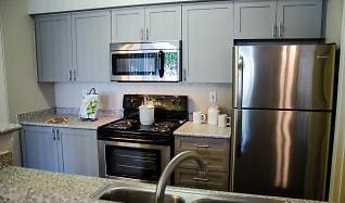 Kitchen, WildReed Apartments