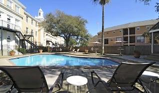 Pool, The Park at Cedar Lawn Apartments