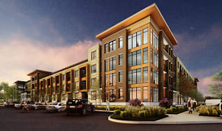 Rendering, The Mill at Ironworks Plaza