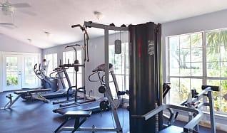 Fitness Weight Room, Island Bay Resort