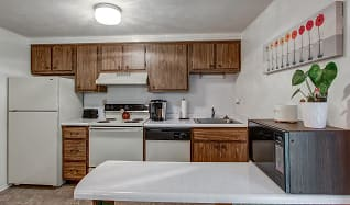Kitchen, Walnut Ridge Townhomes