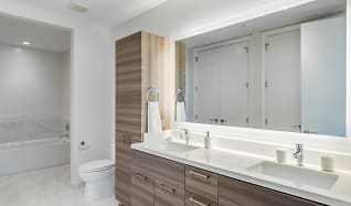 Bathroom, The Residences at Kirby Collection