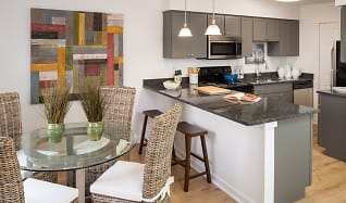 Fully Renovated 2 Bedroom Kitchen with Granite Upgrade at Yardley Crossing, Yardley Crossing