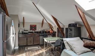 Kitchen, The Pierce School Lofts