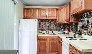 Kitchen, Parker Street Apartments
