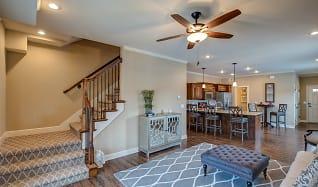 Living Room, Prairie Pines Townhomes