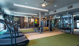 Fitness Weight Room, Pearl Marketplace at Midtown
