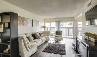 Living Room, Loma Palisades Apartments