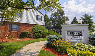 Community Signage, Blendon Square Townhomes