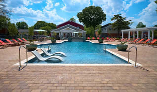 Pool, Haven Apartments and Townhomes