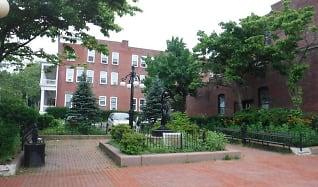 Courtyard, Power Town Apartments
