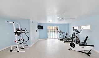 Fitness Weight Room, Ocean Air