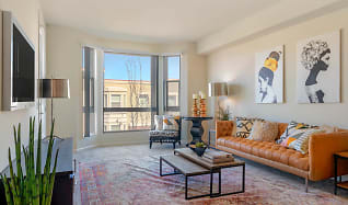 Living Room, Tralee Village Apartments