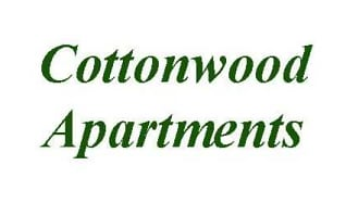 Community Signage, Cottonwood Apartments