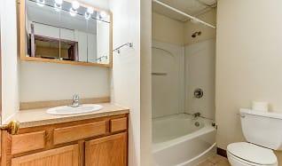 Bathroom, Jackson Apartments