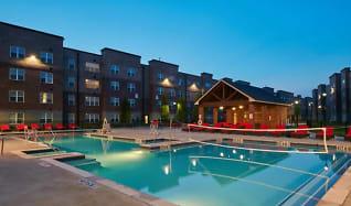 Pool, Trifecta Apartments