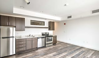 Kitchen, Market City Center Apartments