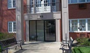 Entry into Building, Clifton Estates Apartments