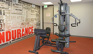 Fitness Weight Room, San Pedro Bank Lofts