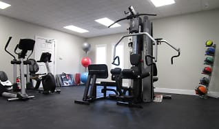Fitness Weight Room, Capital Crossings