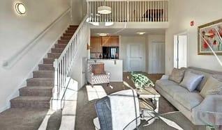 Living Room, The Lofts At Worthington