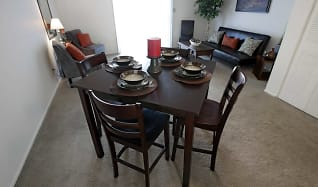 Dining Room, Bradford Lake Apartments