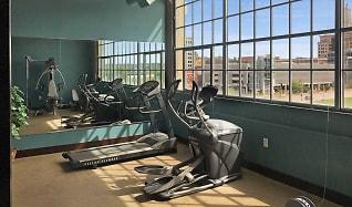 Fitness Weight Room, River Walk Lofts