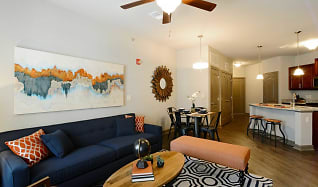 Living Room, Brighton Creek Apartments