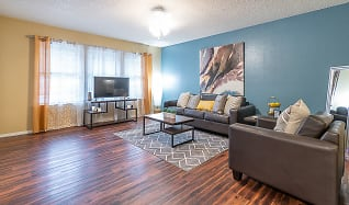 Living Room, Elevation On Post (Per Bedroom)