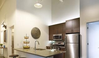 Kitchen, Parkway Lofts