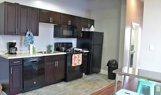 Kitchen, AMO SouthSide Apartments