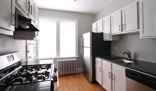 Kitchen, 1151 S. Oak Park Apartments