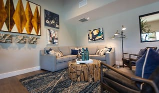 Living Room, Foothill Ridge Apartments