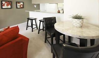 Dining Room, Creekwood Apartments