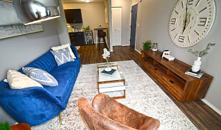 Living Room, Spice Tree Apartments