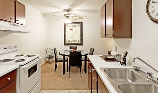 Kitchen, Bradley House Apartments