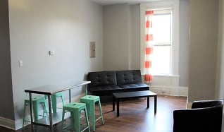 Living Room, AMO SouthSide Apartments