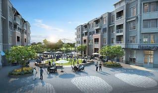 Rendering, 3800 Acqua Apartments