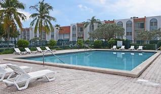 Pool, Park Plaza Apartments