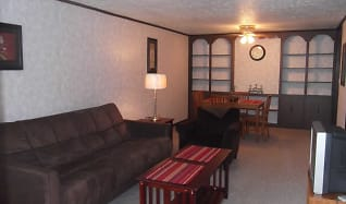 Living Room, Parkville Apartments