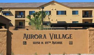 Community Signage, Aurora Village