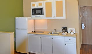 Kitchen, Furnished Studio - Anchorage - Downtown